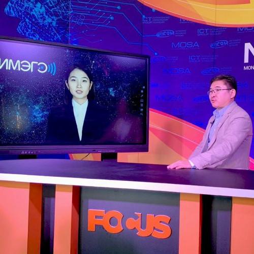 """Монголын анхны хиймэл оюун ухаант хөтлөгч """"Марал"""" анхны ярилцлагаа хийлээ"""
